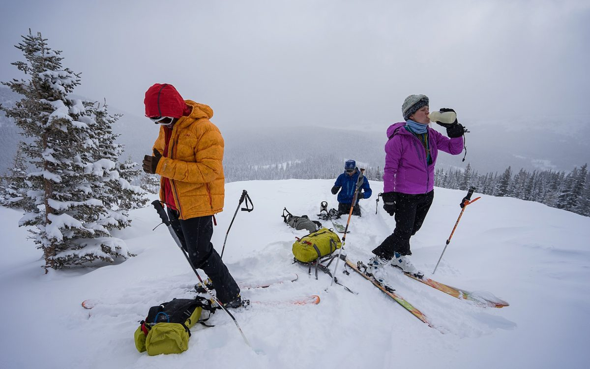Backcountry Skiing Colorado - Nederland and Rocky Mountain National Park