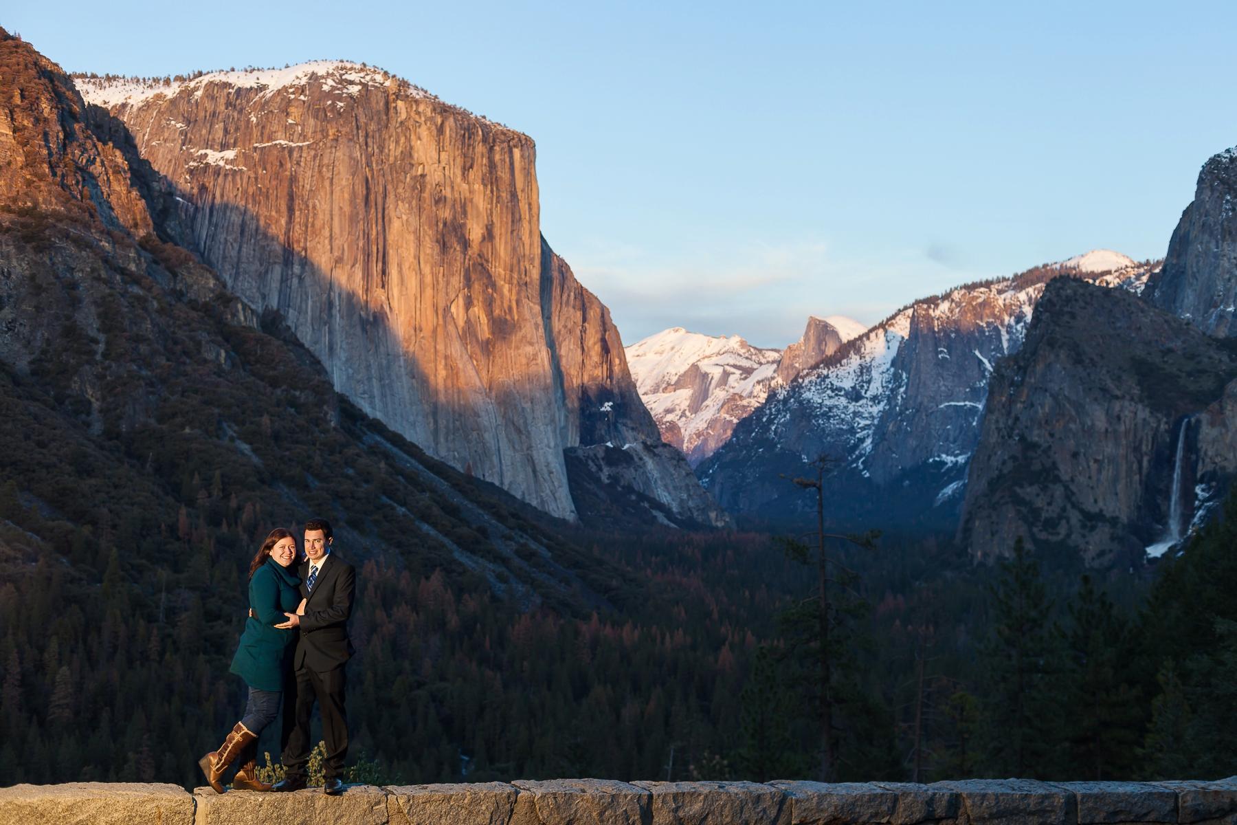 Engagement Photos Yosemite Winter