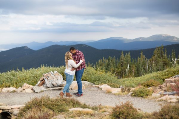 Kristy and Jesse's Mt Evans Engagement | Colorado PhotoDate