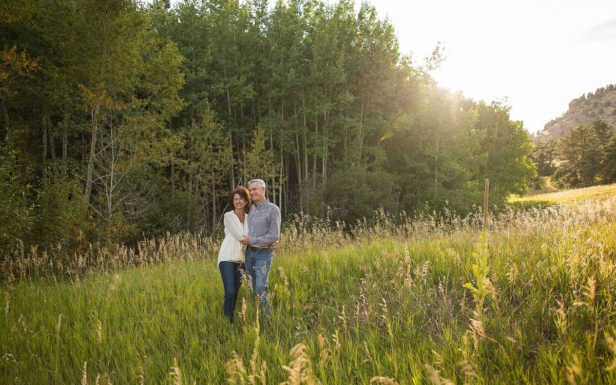 Brian and Nancy's Anniversary PhotoDate | Evergreen Colorado Photography