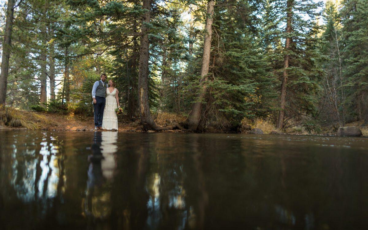 Sarah and Erik's Pine Colorado Wedding | Outdoor Wedding Photography