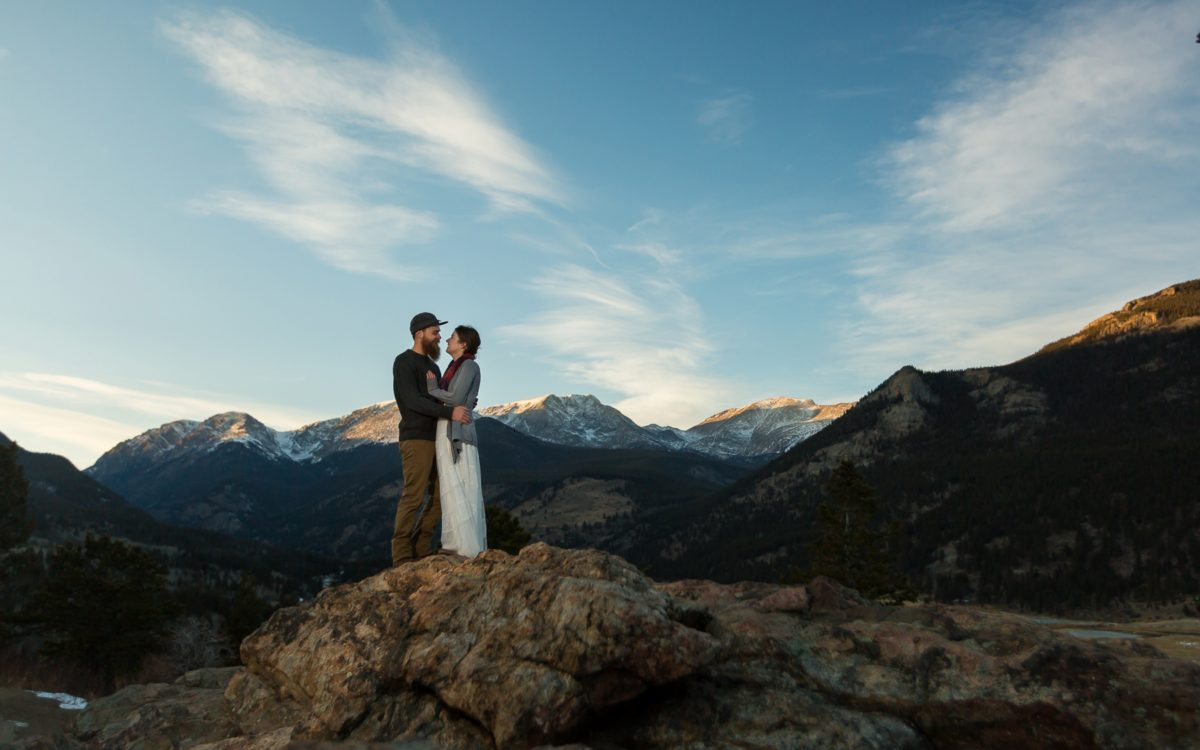 Taylor and Matt's Rocky Mountain NP Elopement | On Love and Gratitude