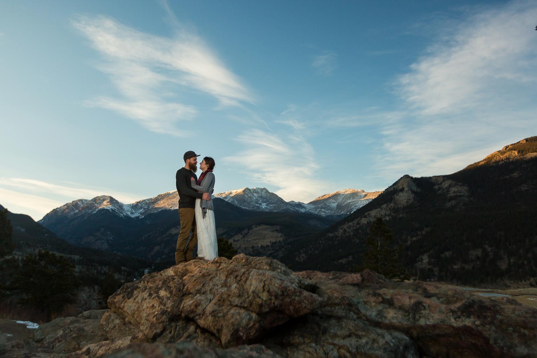 Rocky Mountain NP Elopement