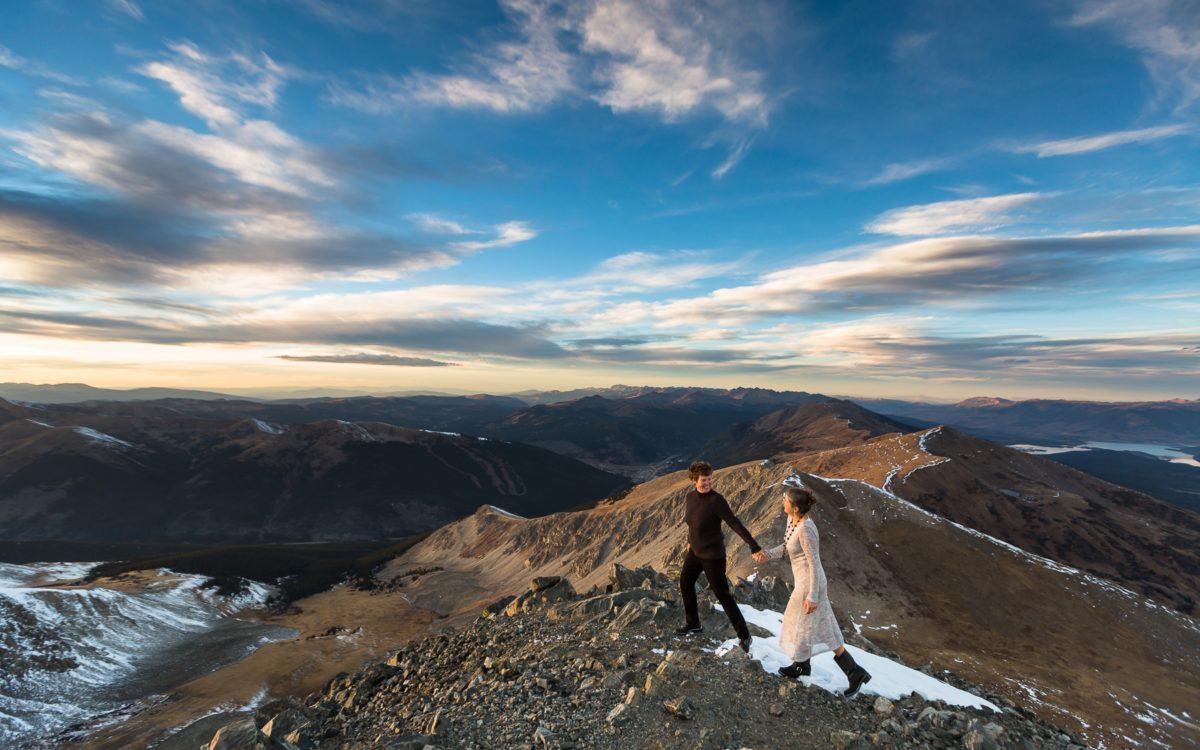 Carla and Sue's Adventurous Breckenridge Elopement | Breckenridge Wedding Photography