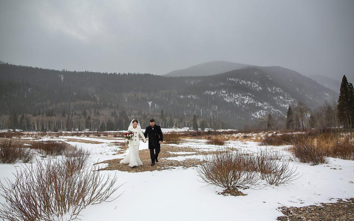 Kirsten and Kurt's Marys Lake Lodge Winter Wedding | Estes Park Wedding Photography