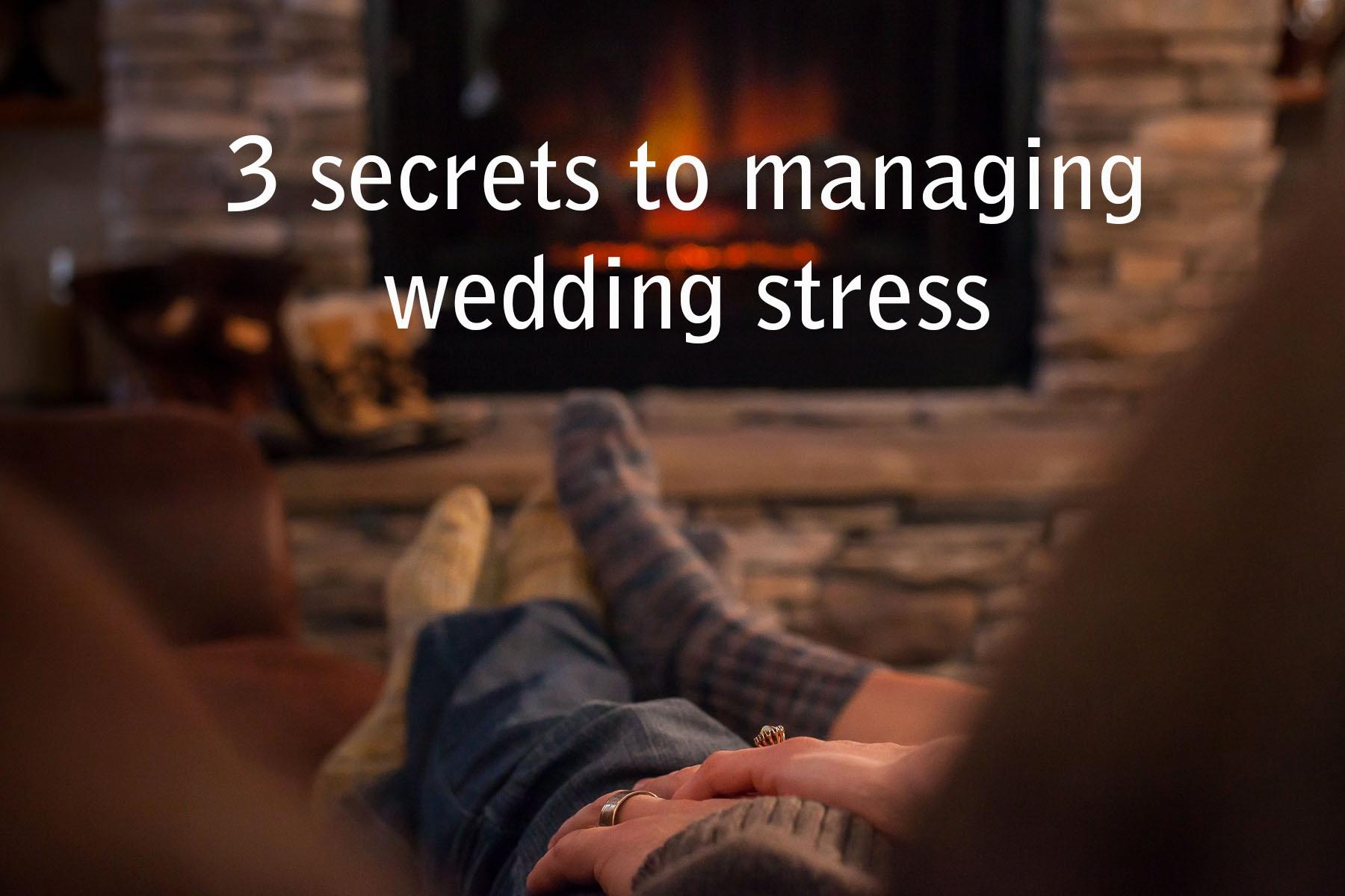 managing wedding stress