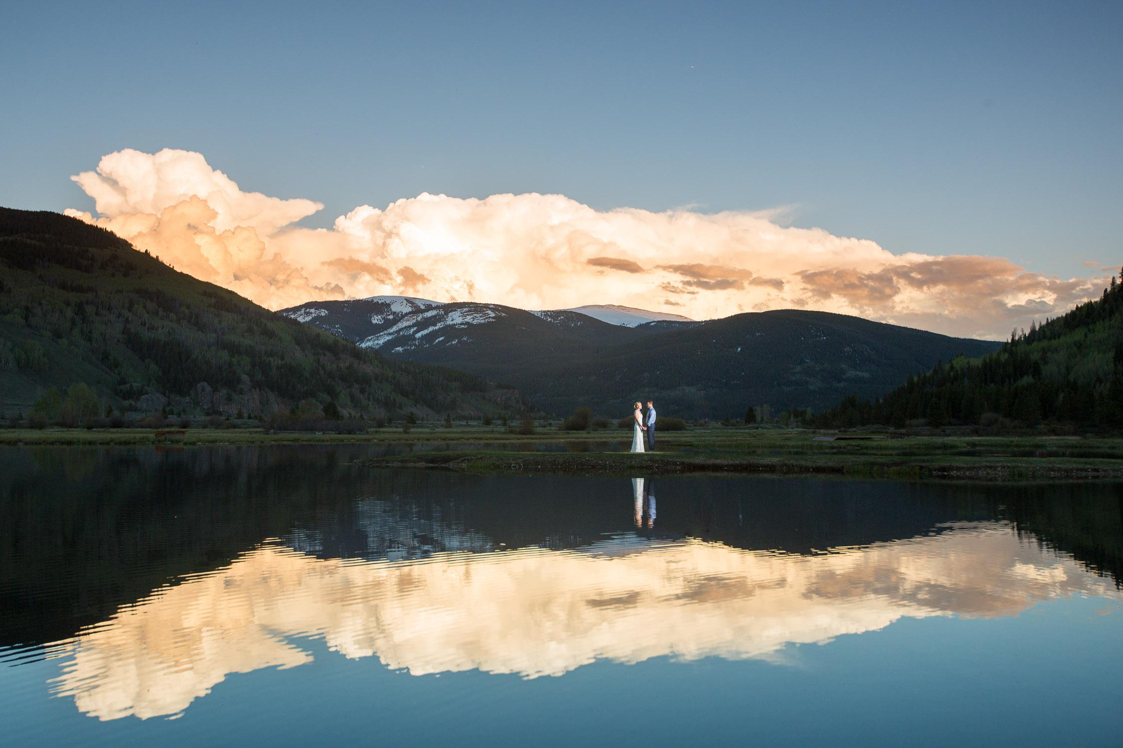 Camp Hale Mountain Wedding Colorado