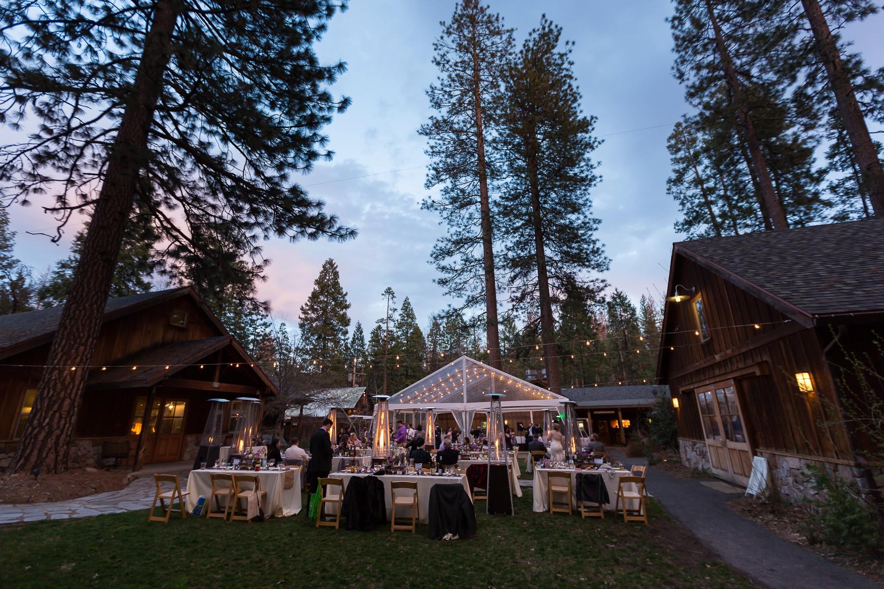 Evergreen Lodge Yosemite Wedding