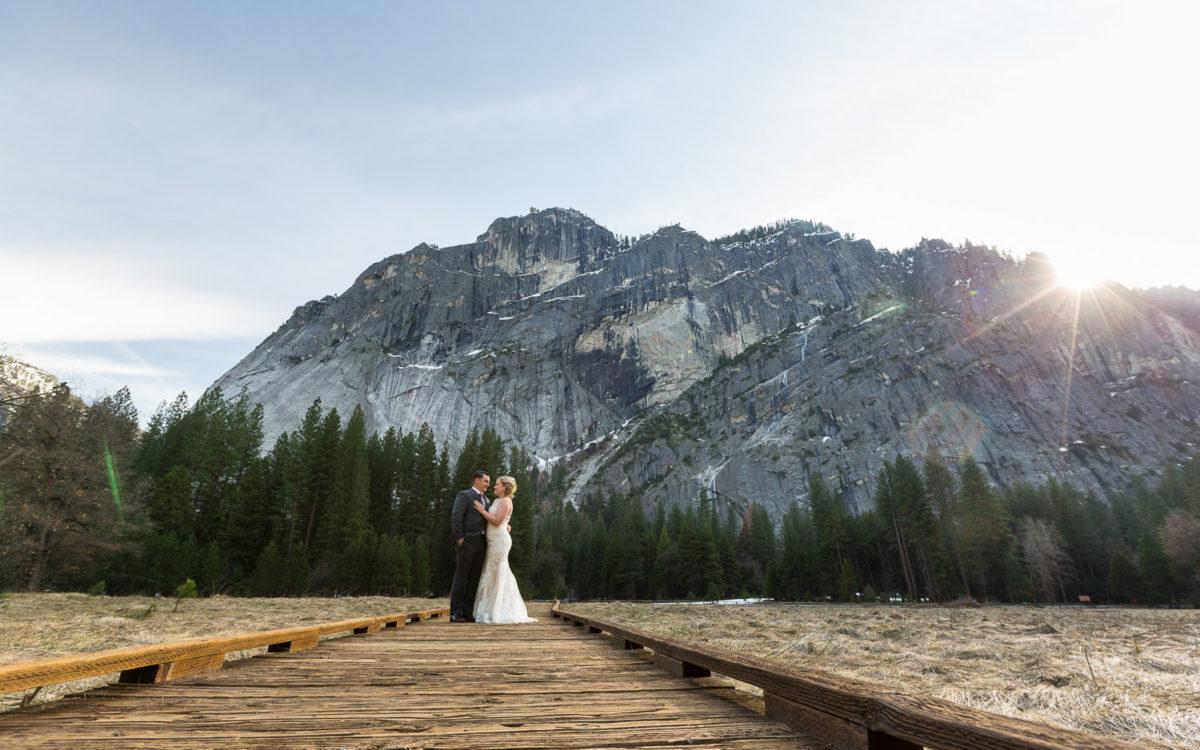 Beth and Daryl's Evergreen Lodge Yosemite Wedding