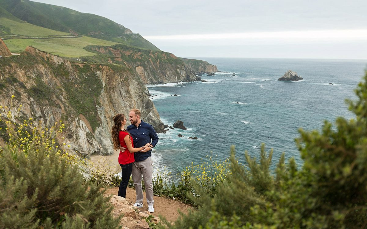 Big Sur Honeymoon Photography | Jackie and Jordan's PhotoDate and Vow Exchange