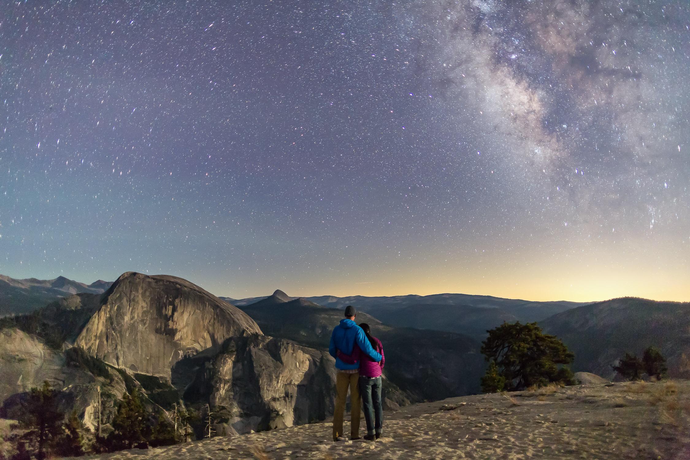 Yosemite Engagement Photos