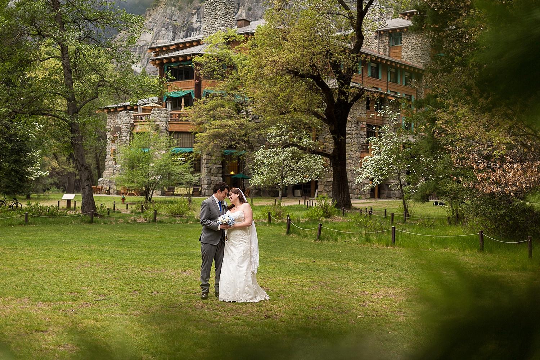 springtime yosemite national park wedding