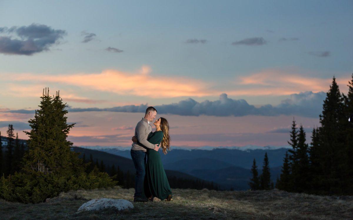 Ashley & Beau's Breathtaking Breckenridge Engagement