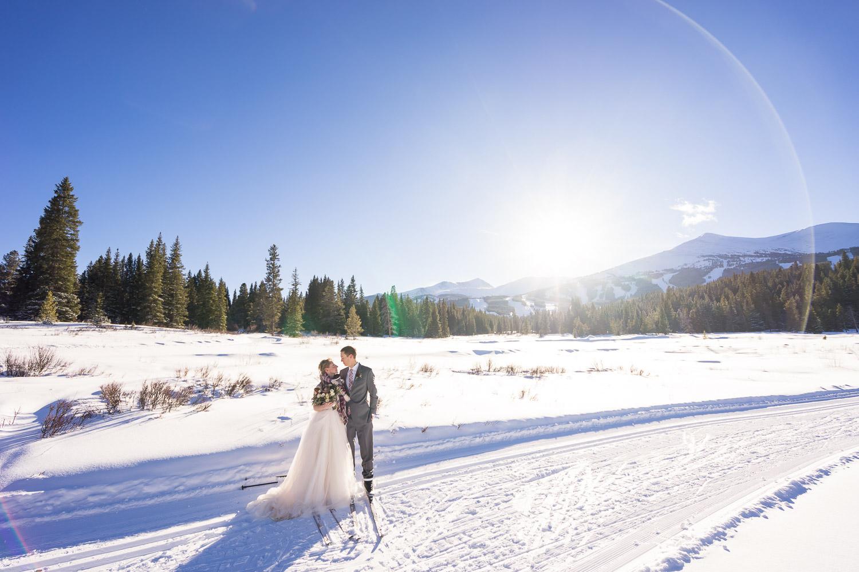 breckenridge winter wedding