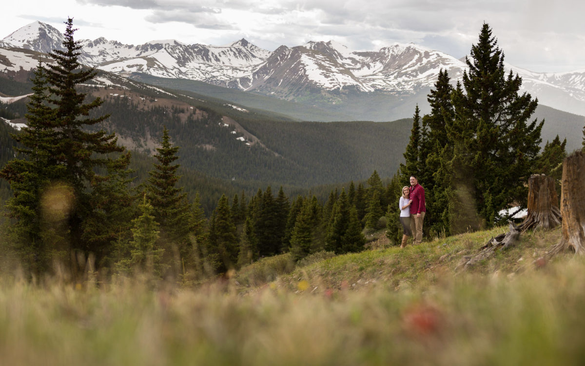 Breckenridge Colorado Mountain Engagement Shoot | Nick and Jane