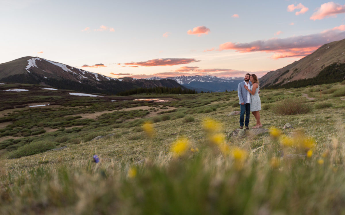 Colorado Mountain Engagement Session | Jaron and Lindsey