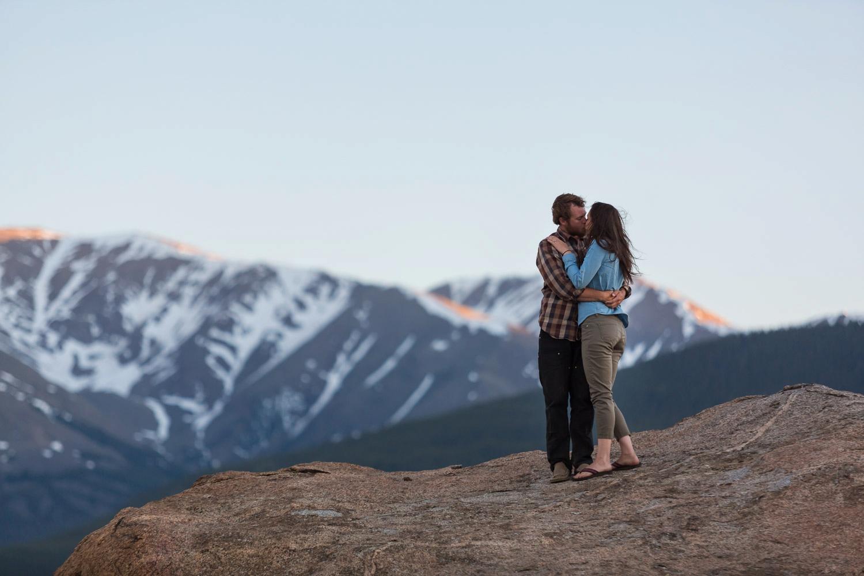 Leadville Colorado Engagement Shoot