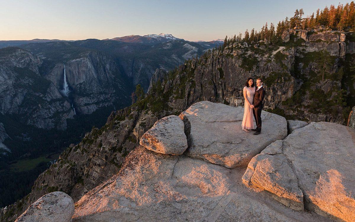 Glacier Point Yosemite Wedding Photography | Mark and Zehra