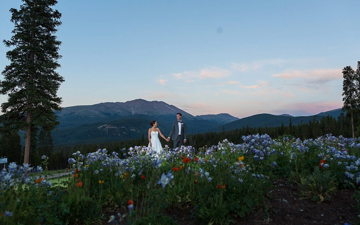 Summer Ten Mile Station Breckenridge Colorado Wedding | Liz and Jimmy
