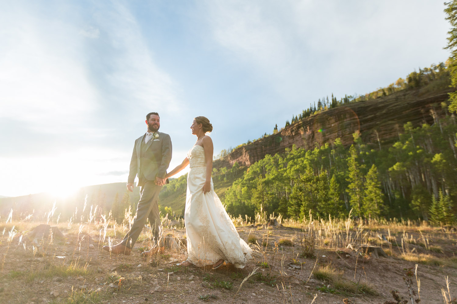 piney river ranch wedding jaron and lindsey bergreen