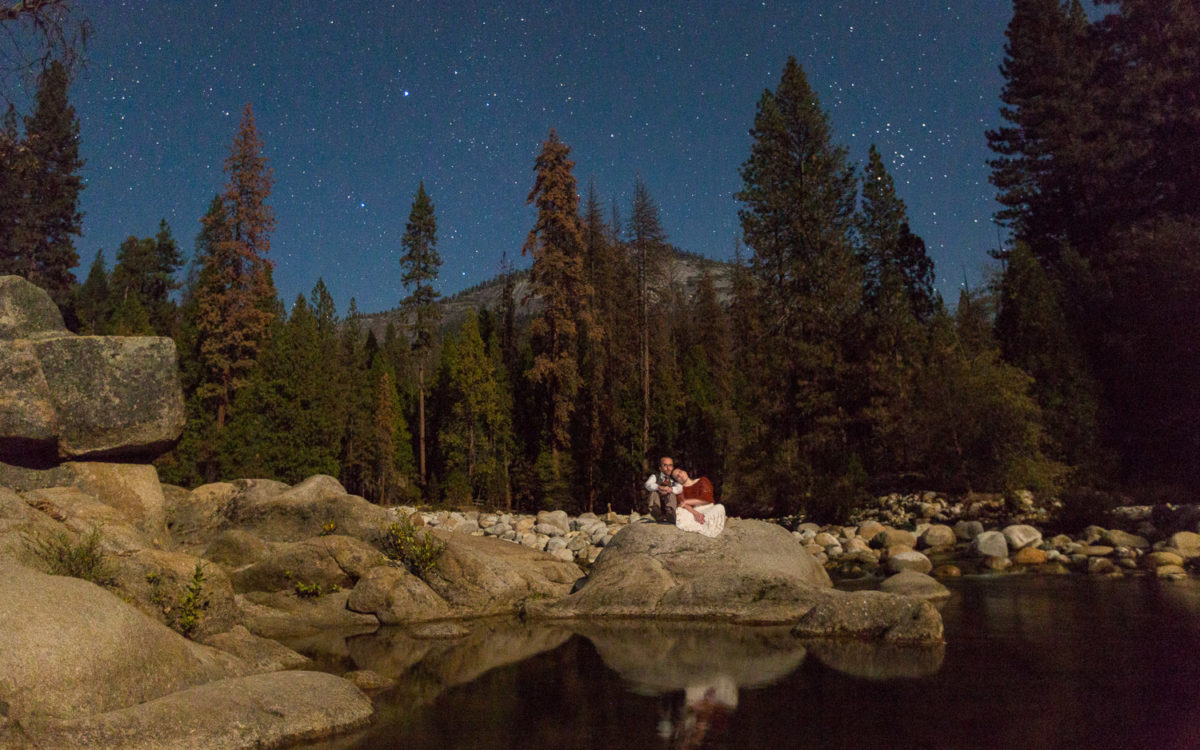 Cathedral Beach Yosemite Wedding | Tiffany and Rory