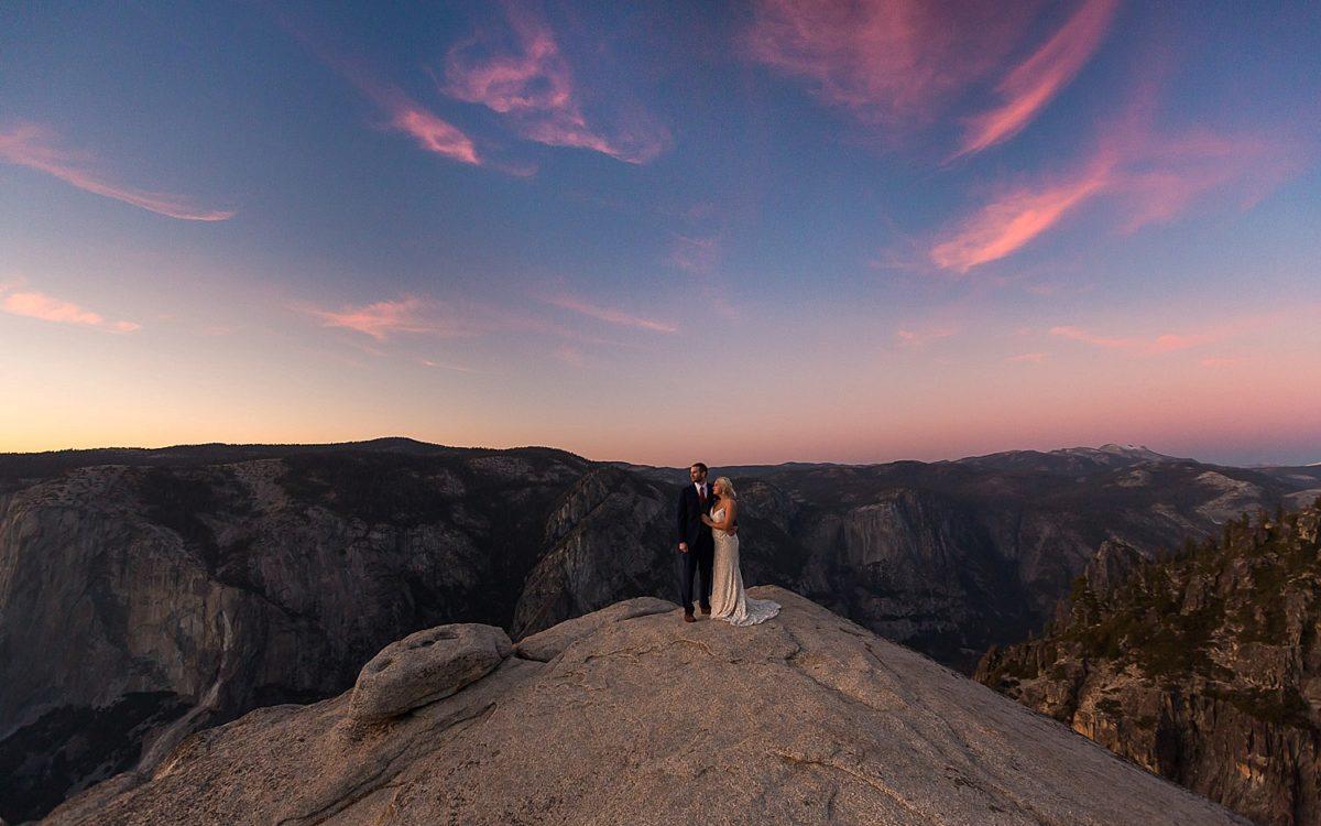 Yosemite Taft Point Elopement Photography | Kristina and Nicholas