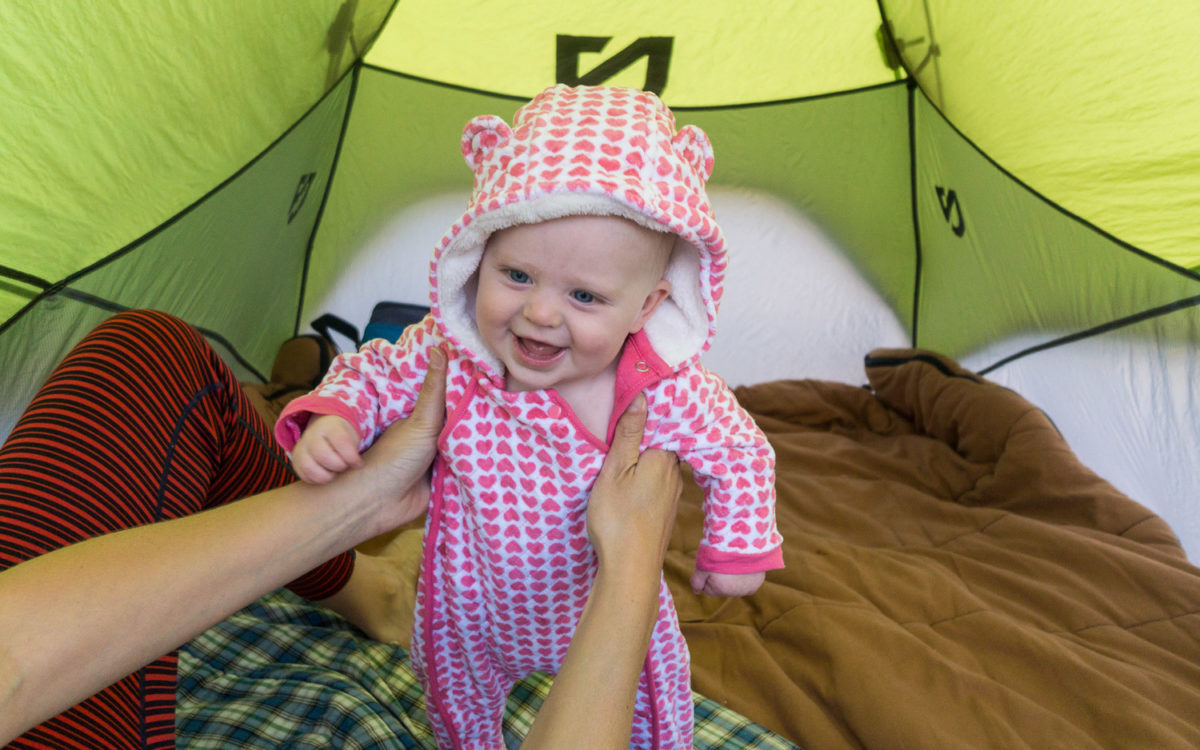 Lessons Learned Camping with a Baby