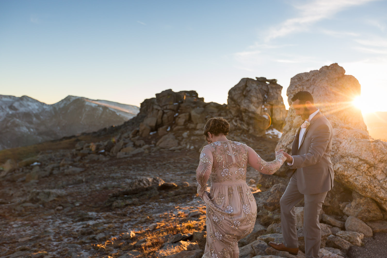 colorado elopement photographer rocky mountain national park