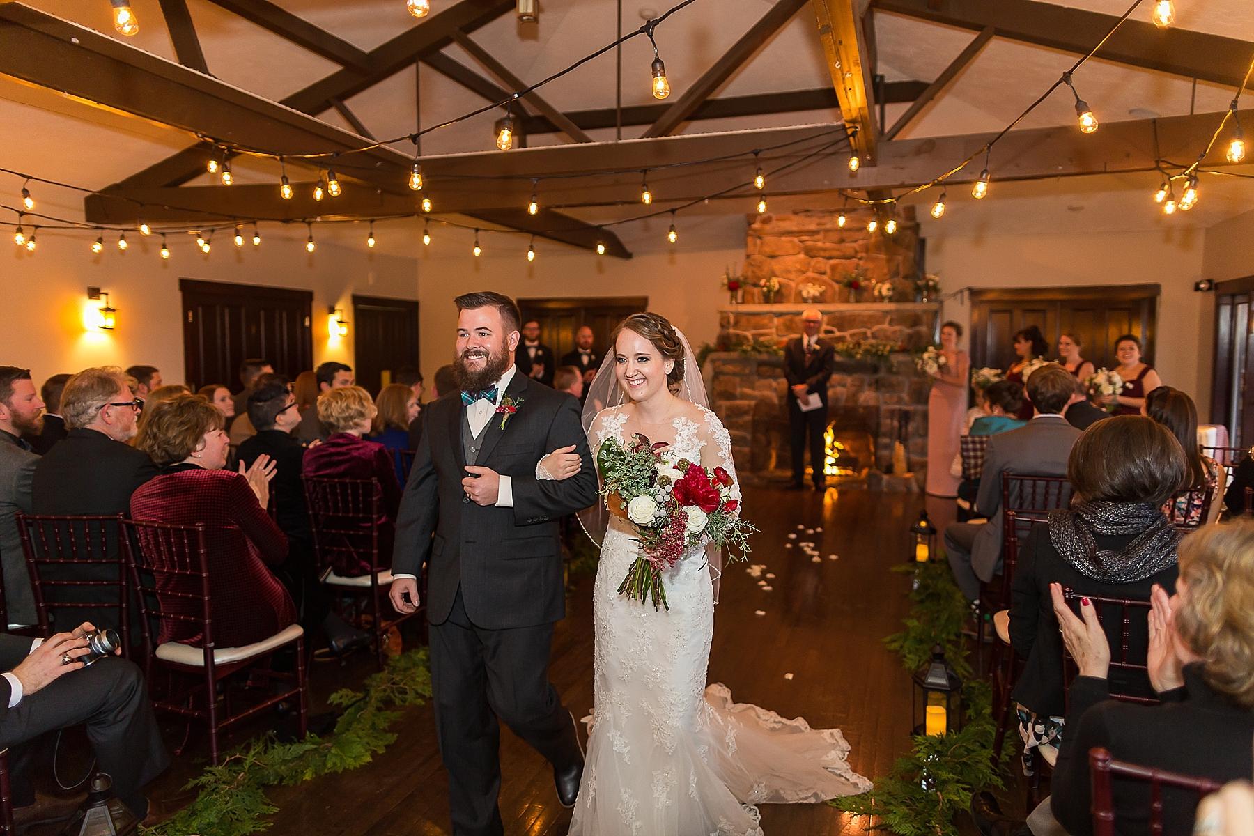 Marys Lake Lodge Winter Wedding