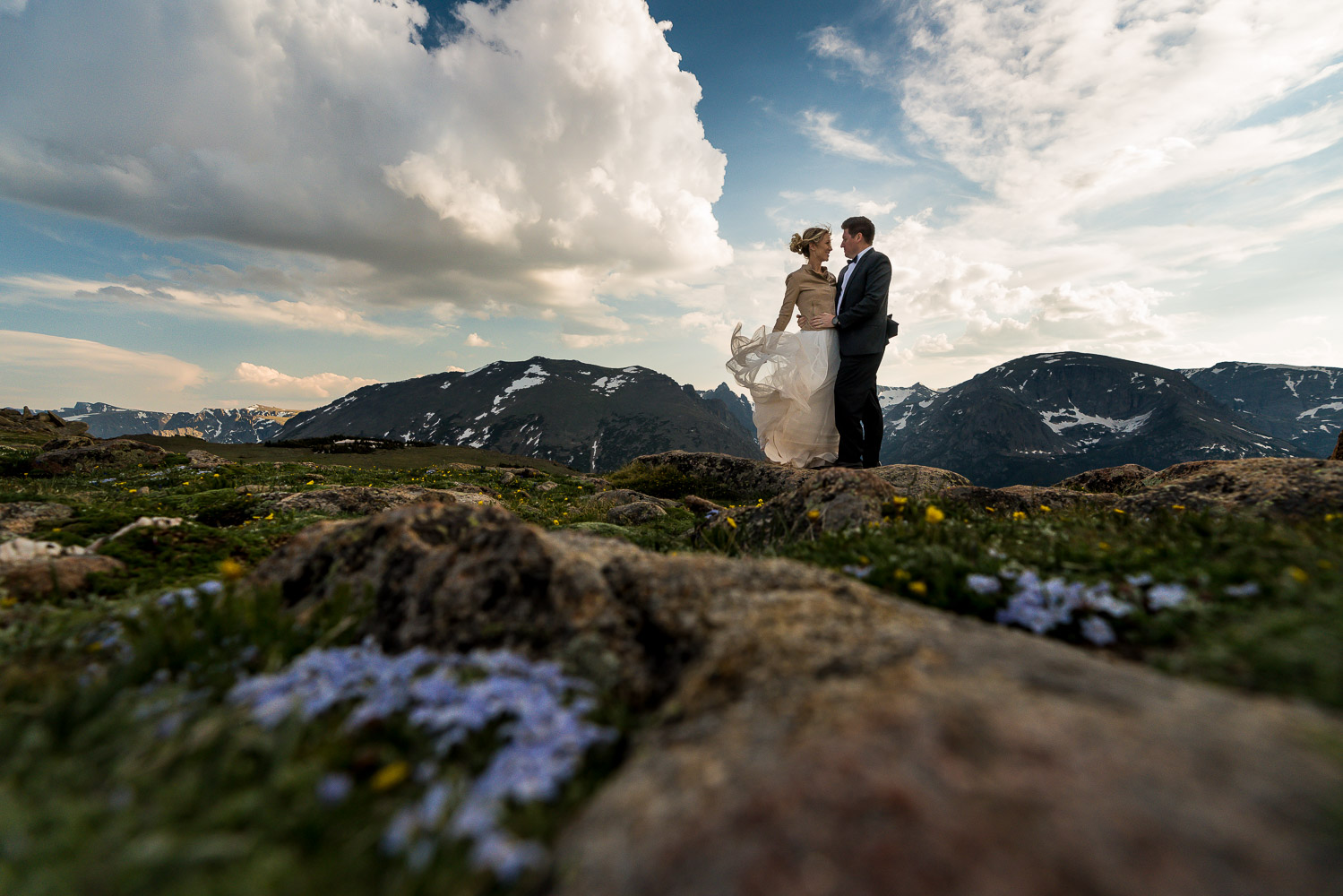 Rocky Mountain National Park Wedding Photographers Trail Ridge Road