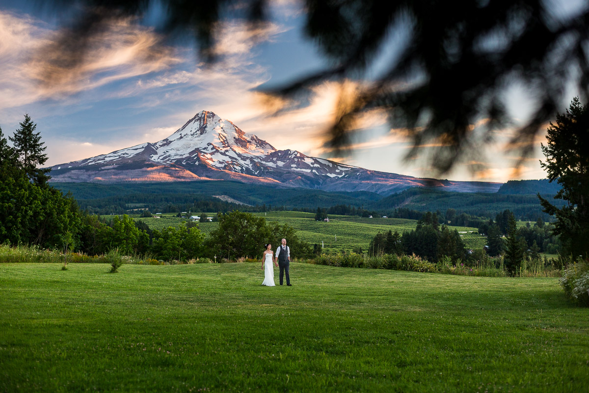 adventurous Colorado mountain wedding photographers mt hood wedding portrait