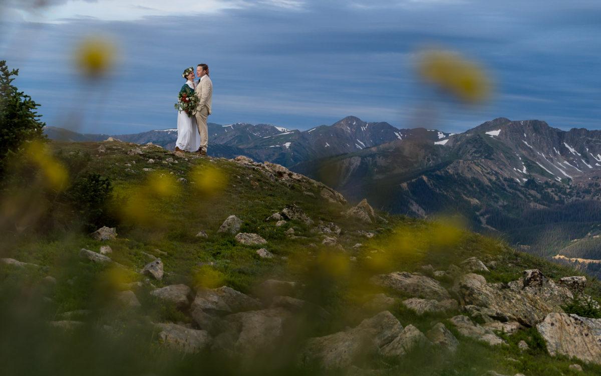 Adventurous Granby Wedding Photos | Kate and James